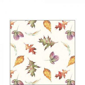 Ambiente servetten Falling Leaves 25